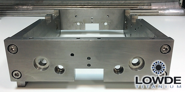Mecanizado de pletinas de Titanio