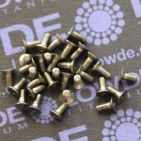 Avellanado M2,5 DIN 7991 Titanio gr. 5