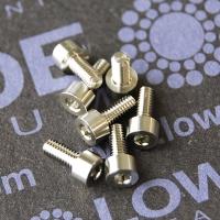 DIN 912 M2.5 titanio grado 5 (6Al-4V)