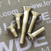 Avellanado M4 DIN 7991 titanio gr. 5