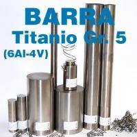 Barras TITANIO GR. 5 (6Al-4V)