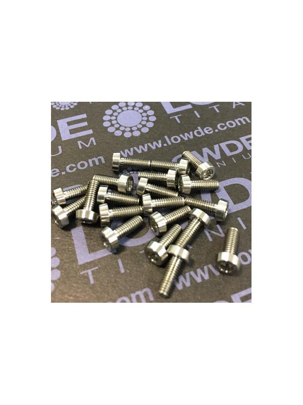 100 Items LN 29950 Mj3x8 titanio gr. 5 (6Al4V) - 100 Items LN 29950 Mj3x8 mm. Titanio gr. 5 (6Al4V) AMS 4928. Fabricado bajo normativa aeroespacial. Certificados de calidad incluidos.