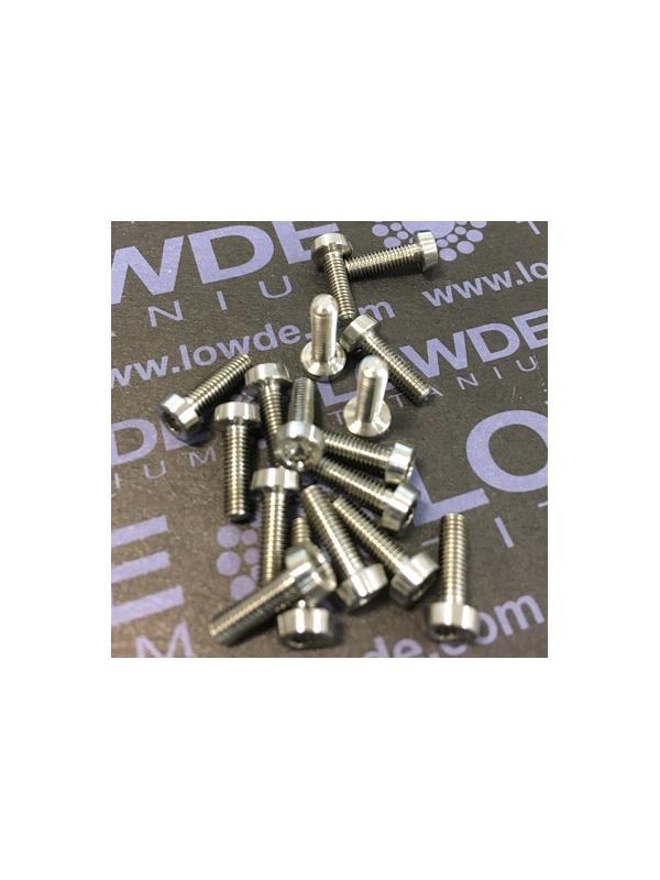 100 Items LN 29950 Mj3x9 titanio gr. 5 (6Al4V) - 100 Items LN 29950 Mj3x9 mm. Titanio gr. 5 (6Al4V) AMS 4928. Fabricado bajo normativa aeroespacial. Certificados de calidad incluidos.