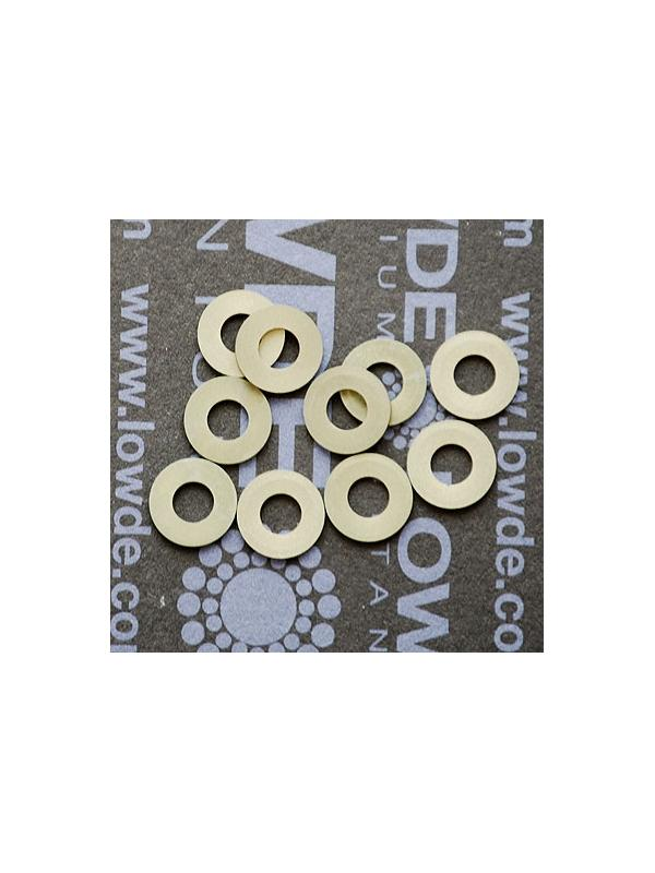 Arandela DIN 125 M4 aluminio 7075 T6. Anodizado duro - Arandela DIN 125 M4 Aluminio 7075 T6. Anodizado duro.