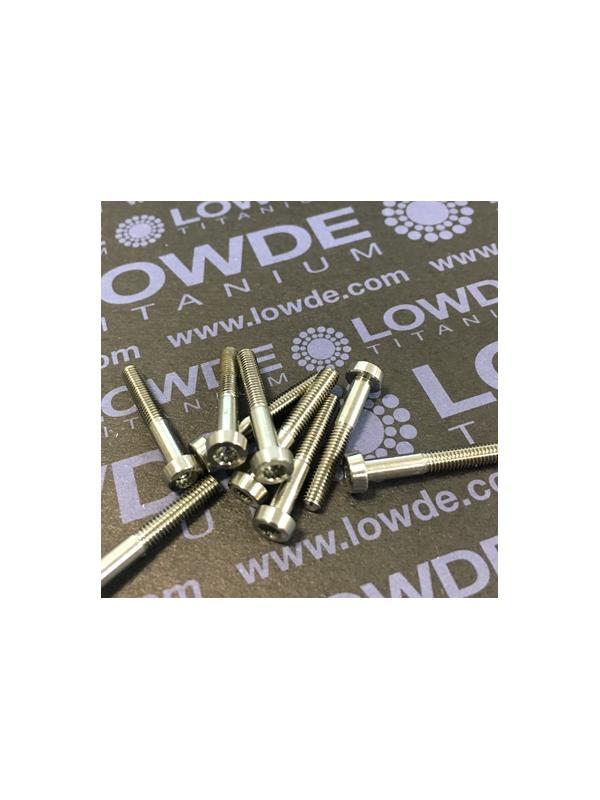 150 Items LN 29950 Mj3x20 titanio gr. 5 (6Al4V) - 150 Items LN 29950 Mj3x20 mm. Titanio gr. 5 (6Al4V) AMS 4928. Fabricado bajo normativa aeroespacial. Certificados de calidad incluidos.