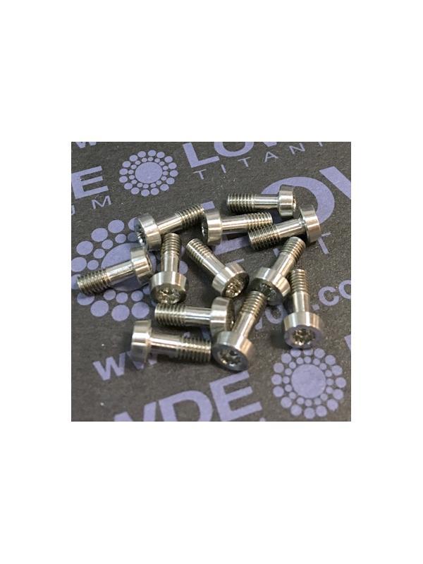 125 Items LN 29950 Mj3x8 (según plano) titanio gr. 5 (6Al4V) - 125 Items LN 29950 Mj3x8 mm. Titanio gr. 5 (6Al4V) AMS 4928. Fabricado bajo normativa aeroespacial. Certificados de calidad incluidos.