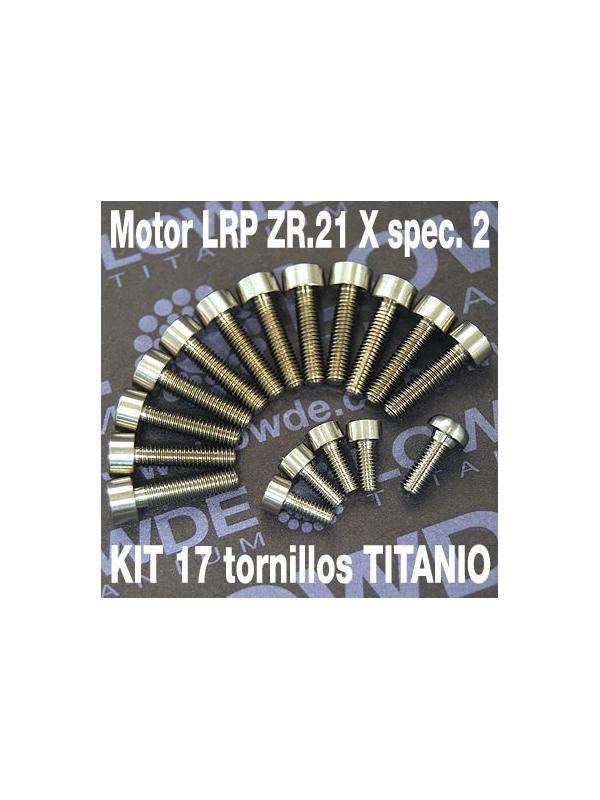 Kit 17 Tornillos motor