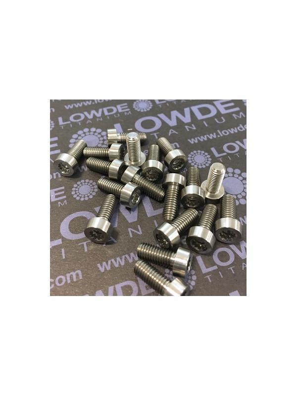 16 Items LN 29950 MJ5x12 titanio gr. 5 (6Al4V) - 16 Items LN 29950 MJ5x12 mm. titanio gr. 5 (6Al4V) AMS 4928. Fabricado bajo normativa aeroespacial. Certificados de calidad incluidos.