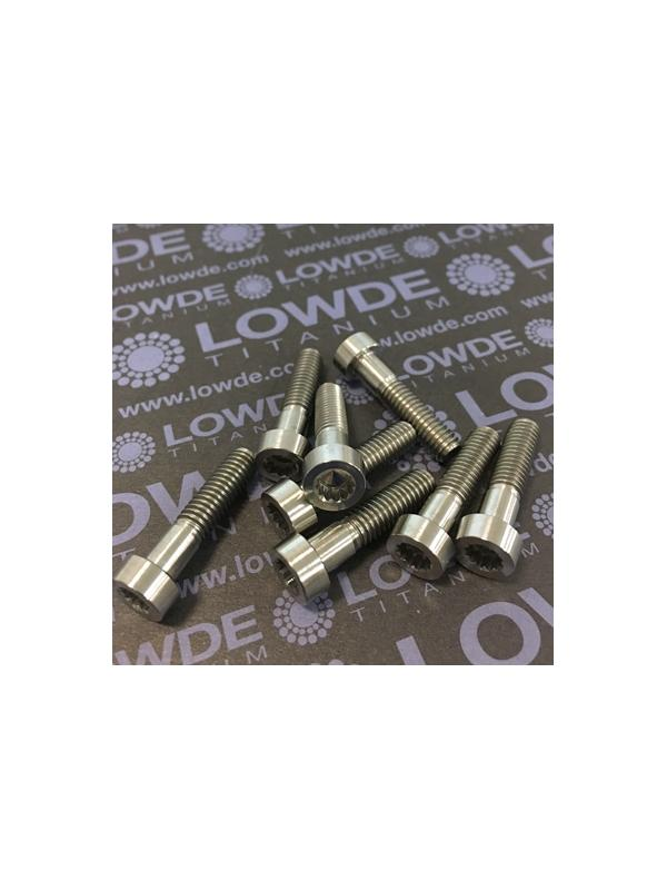 25 Items LN 29950 MJ6x25 titanio gr. 5 (6Al4V) - 25 Items LN 29950 MJ6x25 mm. titanio gr. 5 (6Al4V) AMS 4928. Fabricado bajo normativa aeroespacial. Certificados de calidad incluidos.