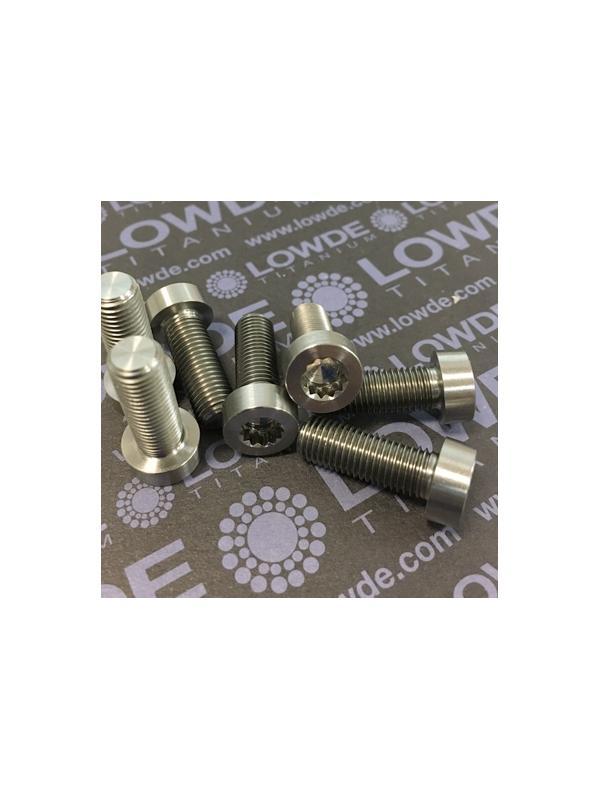 28 Items LN 29950 MJ8x22 titanio gr. 5 (6Al4V) - 28 Items LN 29950 MJ8x22 mm. titanio gr. 5 (6Al4V) AMS 4928. Fabricado bajo normativa aeroespacial. Certificados de calidad incluidos.