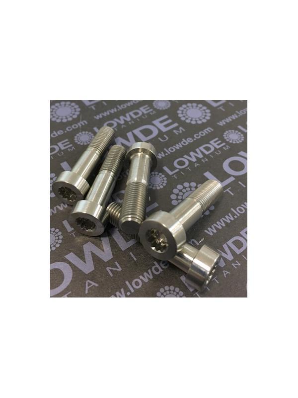 33 Items LN 29950 MJ8x34 titanio gr. 5 (6Al4V) - 33 Items LN 29950 MJ8x34 mm. titanio gr. 5 (6Al4V) AMS 4928. Fabricado bajo normativa aeroespacial. Certificados de calidad incluidos.
