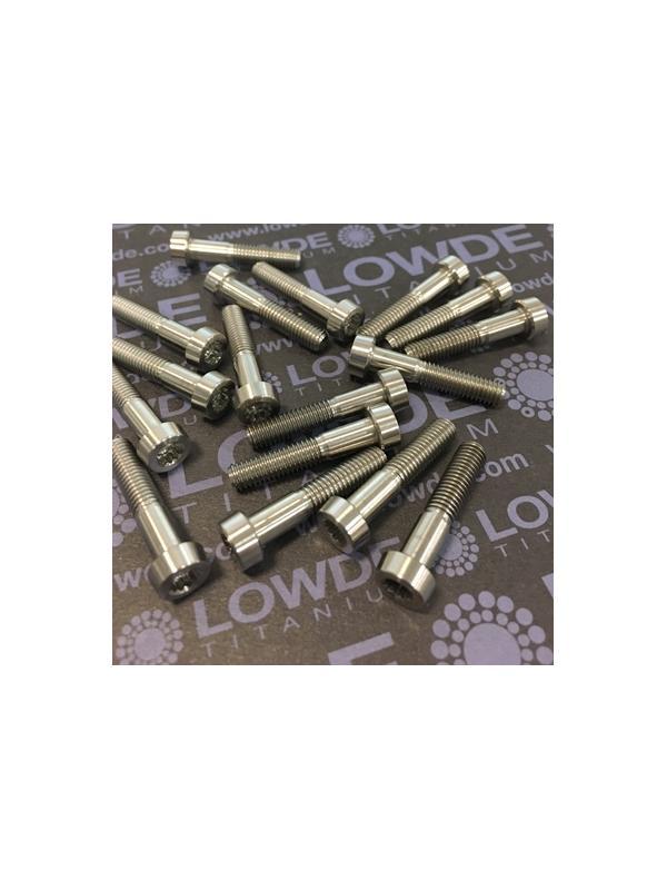 35 Items LN 29950 MJ5x25 titanio gr. 5 (6Al4V) - 35 Items LN 29950 MJ5x25 mm. titanio gr. 5 (6Al4V) AMS 4928. Fabricado bajo normativa aeroespacial. Certificados de calidad incluidos.