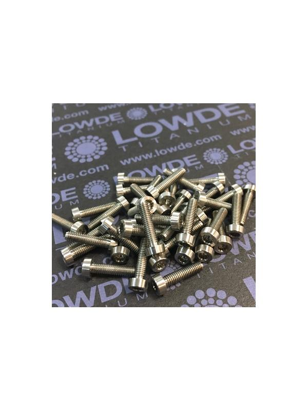 40 Items LN 29950 Mj3x12 titanio gr. 5 (6Al4V) - 40 Items LN 29950 Mj3x12 mm. Titanio gr. 5 (6Al4V) AMS 4928. Fabricado bajo normativa aeroespacial. Certificados de calidad incluidos.