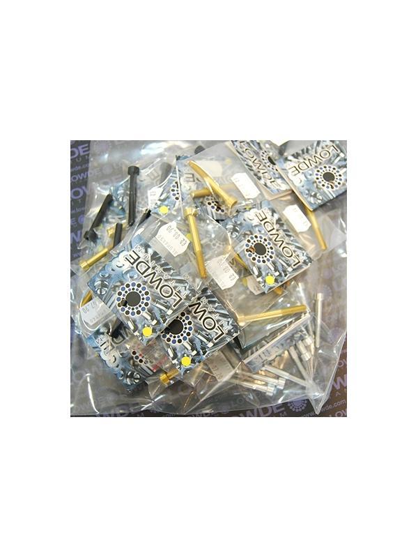 50 Tornillos DIN 912 M6 longitudes 35 a 50 mm. Aluminio 7075 - 50 Tornillos DIN 912 M6 longitudes de 35 a 50 mm. Aluminio 7075. Color natural, oro y negro