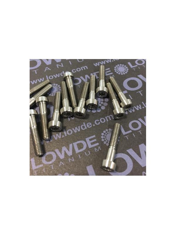 70 Items LN 29950 Mj4x20 titanio gr. 5 (6Al4V) - 70 Items LN 29950 Mj4x20 mm. titanio gr. 5 (6Al4V) AMS 4928. Fabricado bajo normativa aeroespacial. Certificados de calidad incluidos.