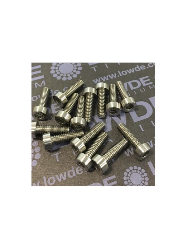 75 Items LN 29950 Mj4x13 titanio gr. 5 (6Al4V) - 75 Items LN 29950 Mj4x13 mm. titanio gr. 5 (6Al4V) AMS 4928. Fabricado bajo normativa aeroespacial. Certificados de calidad incluidos.