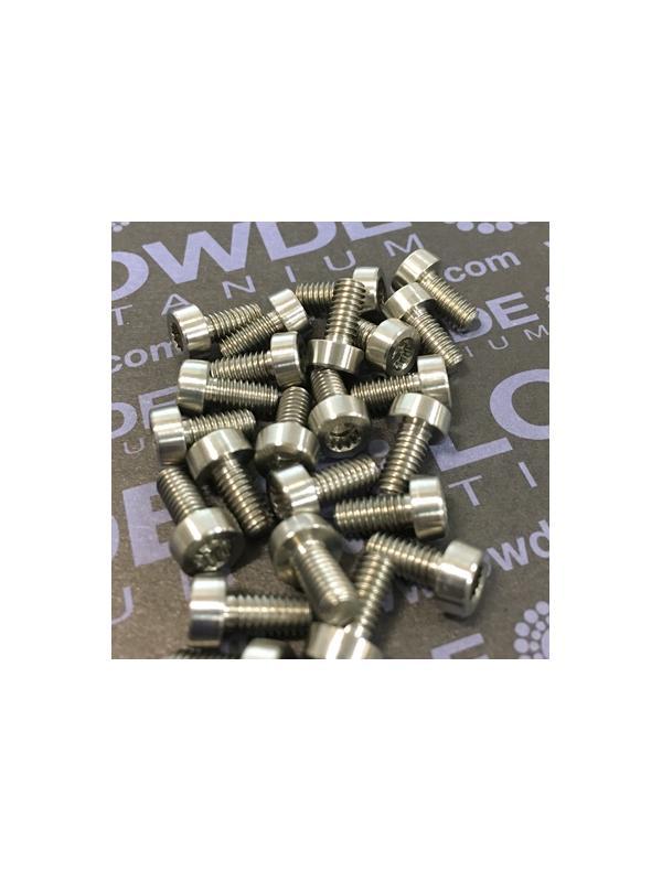 59 Items LN 29950 Mj4x8 titanio gr. 5 (6Al4V) - 59 Items LN 29950 Mj4x8 mm. titanio gr. 5 (6Al4V) AMS 4928. Fabricado bajo normativa aeroespacial. Certificados de calidad incluidos.