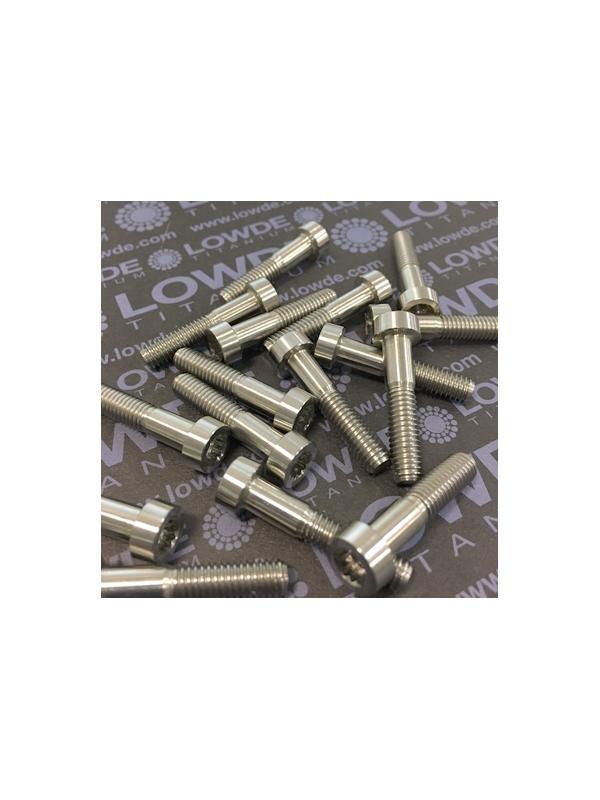 75 Items LN 29950 MJ6x29 titanio gr. 5 (6Al4V) - 75 Items LN 29950 MJ6x29 mm. titanio gr. 5 (6Al4V) AMS 4928. Fabricado bajo normativa aeroespacial. Certificados de calidad incluidos.