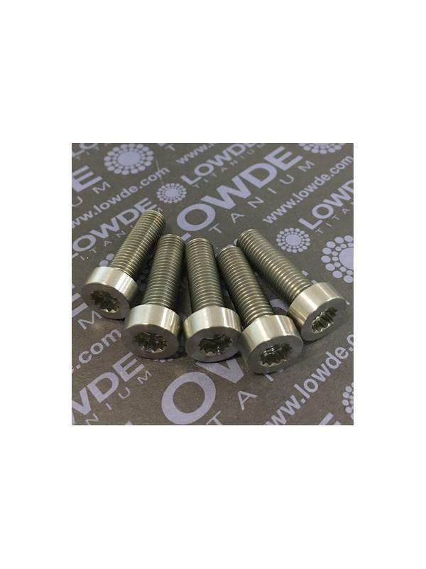 75 Items LN 29950 MJ8x26 titanio gr. 5 (6Al4V) - 75 Items LN 29950 MJ8x26 mm. titanio gr. 5 (6Al4V) AMS 4928. Fabricado bajo normativa aeroespacial. Certificados de calidad incluidos.