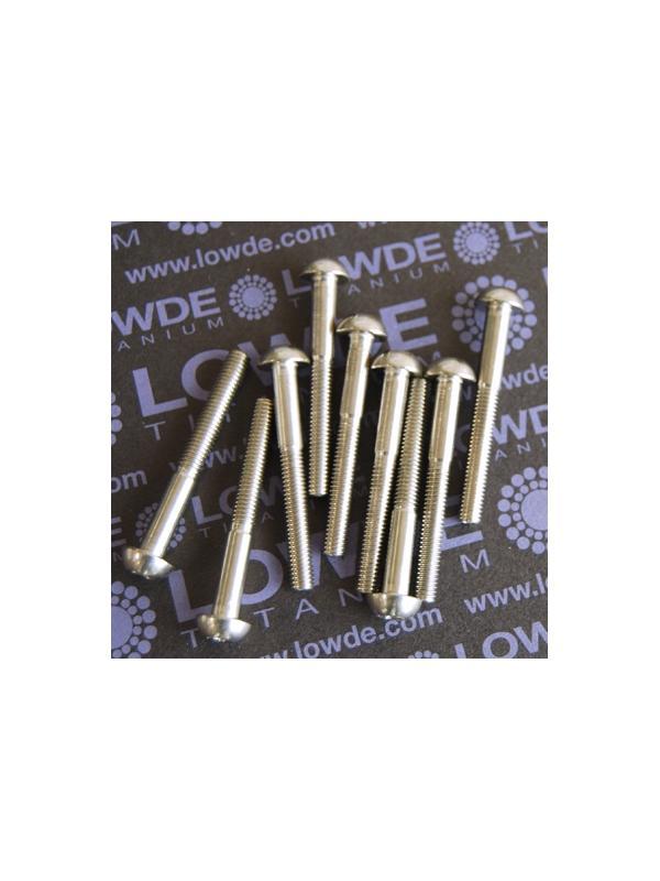 DIN 7985 M5x41 mm. de titanio gr. 5 (6Al4V) - DIN 7985 M5x41 mm. de titanio gr. 5 (6Al4V)