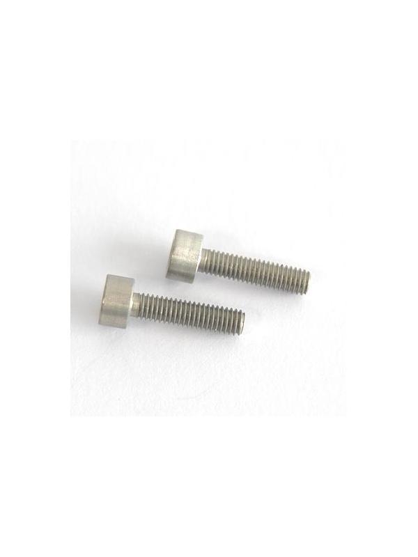 DIN 912 M3x12 de Aluminio 7075 anodizado duro - Tornillo DIN 912 M3x12 mm. de Aluminio 7075 anodizado duro