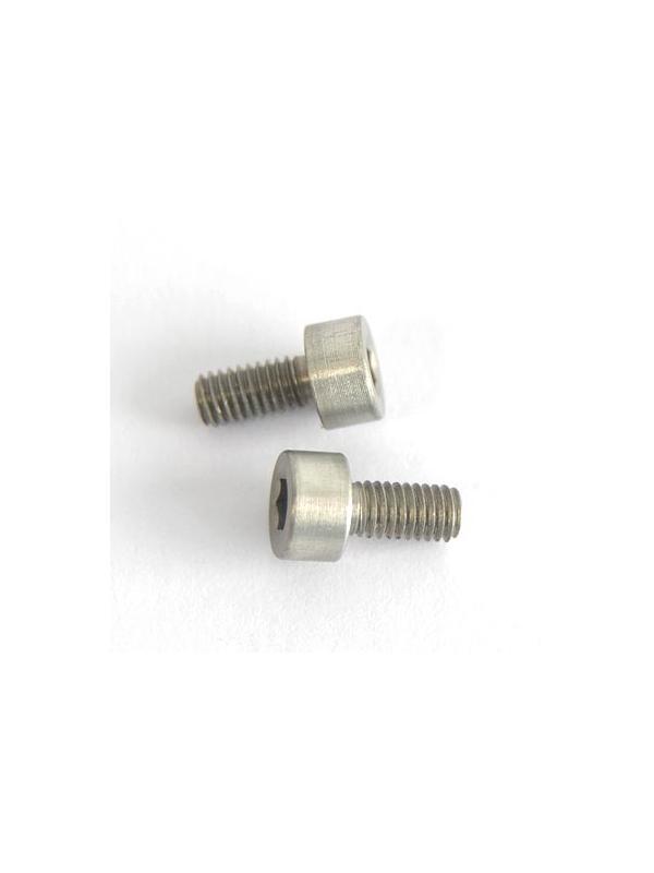 DIN 912 M3x6 de Aluminio 7075 anodizado duro - Tornillo DIN 912 M3x6 mm. de Aluminio 7075 anodizado duro
