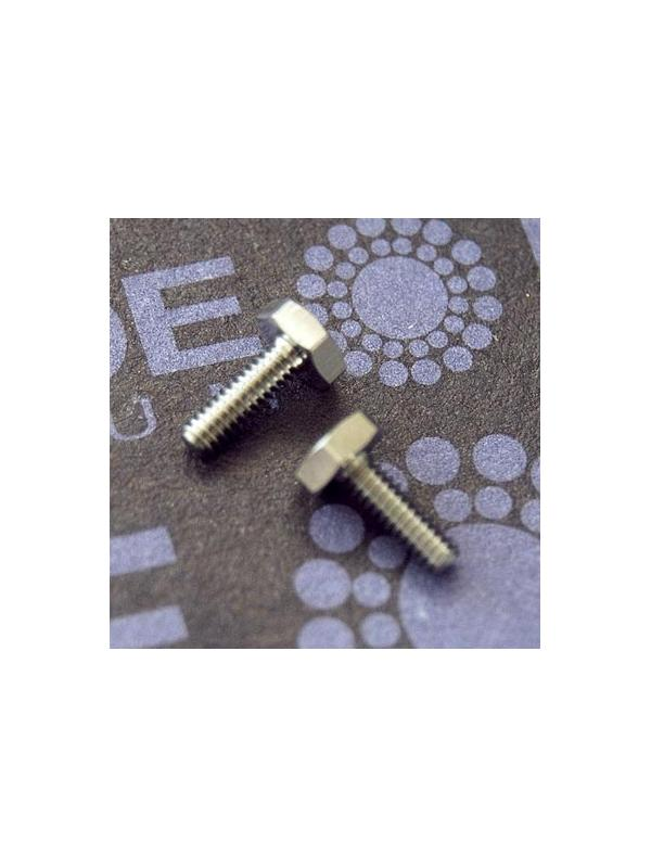 DIN 933 M2x6 mm. de titanio gr. 5 (6Al4V) ELI - DIN 933 M2x6 mm. de titanio gr. 5 (6Al4V) ELI