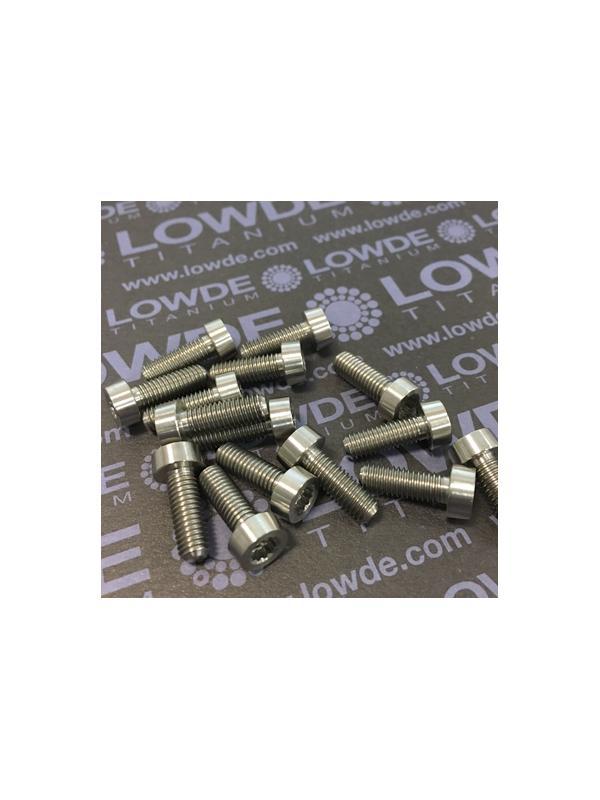 75 Items LN 29950 MJ5x14 titanio gr. 5 (6Al4V) - 75 Items LN 29950 MJ5x14 mm. titanio gr. 5 (6Al4V) AMS 4928. Fabricado bajo normativa aeroespacial. Certificados de calidad incluidos.