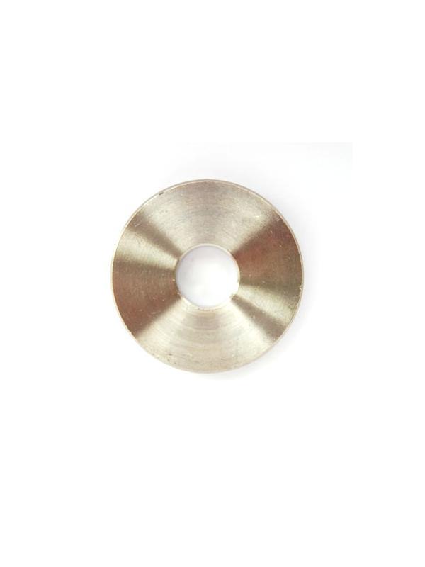 Arandela/casquillo M10 de titanio gr. 2. Diámetro ext. 32 mm. Grosor 5 mm. - Arandela/casquillo M10 de titanio gr. 2. Diámetro ext. 32 mm. Grosor 5 mm.