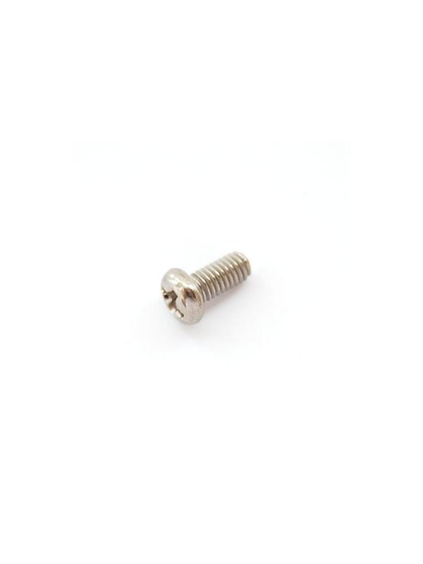 DIN 7985 M3x6 mm. de titanio gr. 2. Acabado brillante