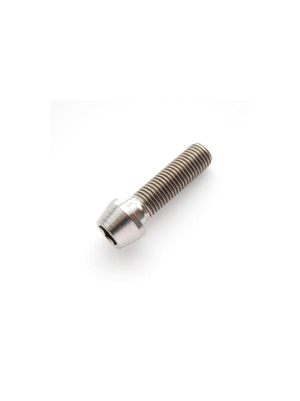 CÓNICO M10x1,25x35 titanio gr. 5 (6Al4V) - 1 Tornillo CÓNICO M10x35 mm. paso de rosca de 1,25, de titanio gr. 5 (6Al4V).