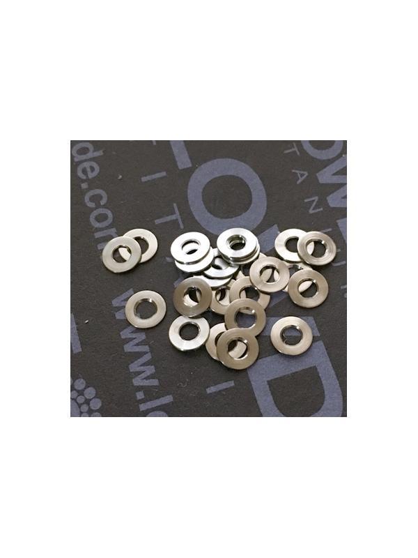 Arandela DIN 125 M2 titanio gr. 5 (6Al4V) - Arandela DIN 125 M2 titanio gr. 5 (6Al4V)
