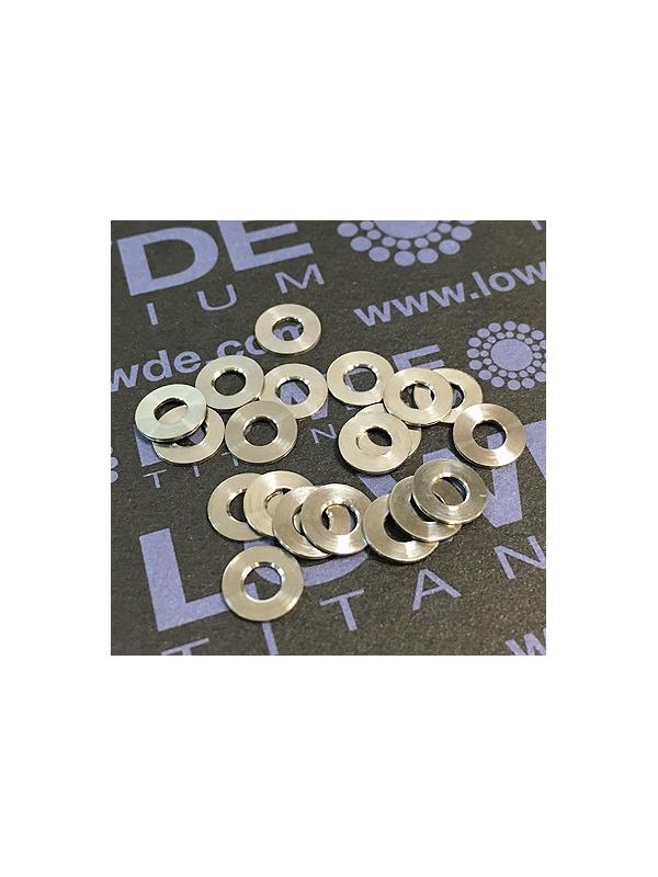 Arandela DIN 125 M3 titanio gr. 5 (6Al4V) - Arandela DIN 125 M3 titanio gr. 5 (6Al4V)