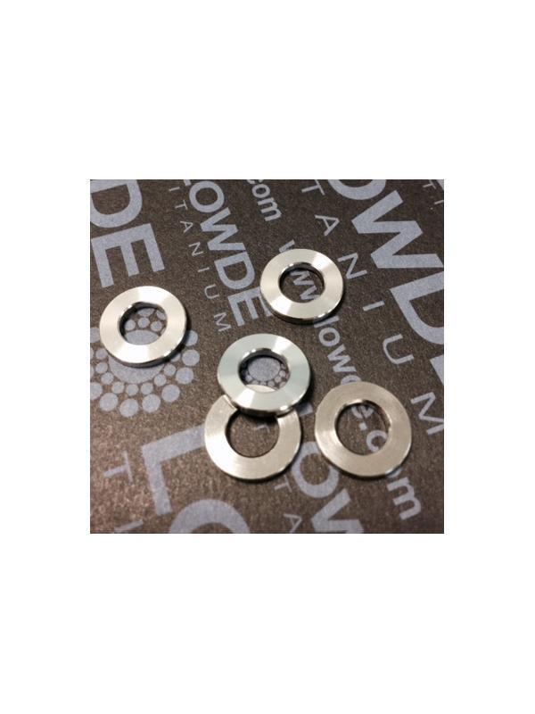 Arandela DIN 125 M6 titanio gr. 5 (6Al4V) - Arandela DIN 125 M6 titanio gr. 5 (6Al4V)