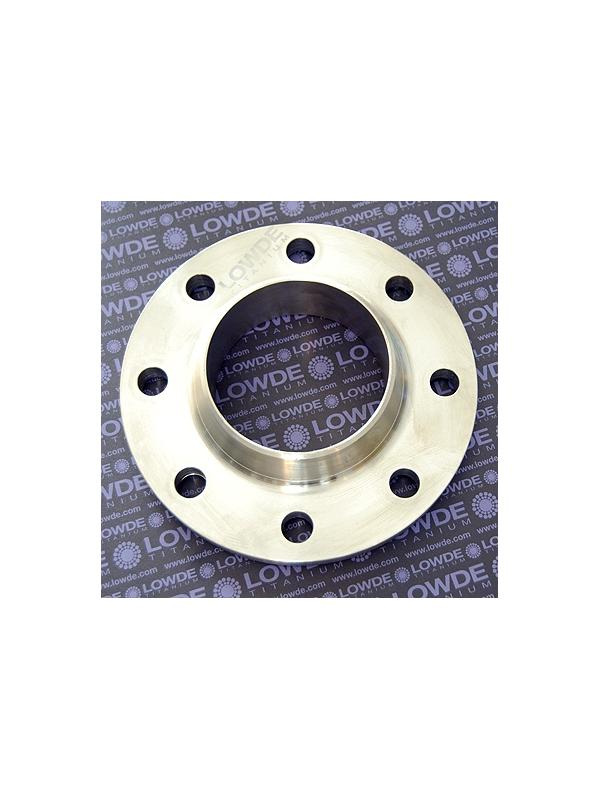 Brida DIN 2632PN10 de Ti gr. 2 ASTM B381 para tubo 114,3 mm. - Brida DIN 2632PN10 de TITANIO gr. 2 ASTM B381 para tubo de 114,3 mm. Diámetro máximo: 220 mm.