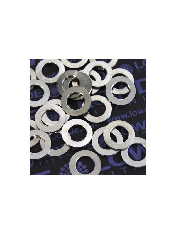 Arandela DIN 433 M10 titanio gr. 5 (6Al4V) - Arandela DIN 433 M10 titanio gr. 5 (6Al4V)