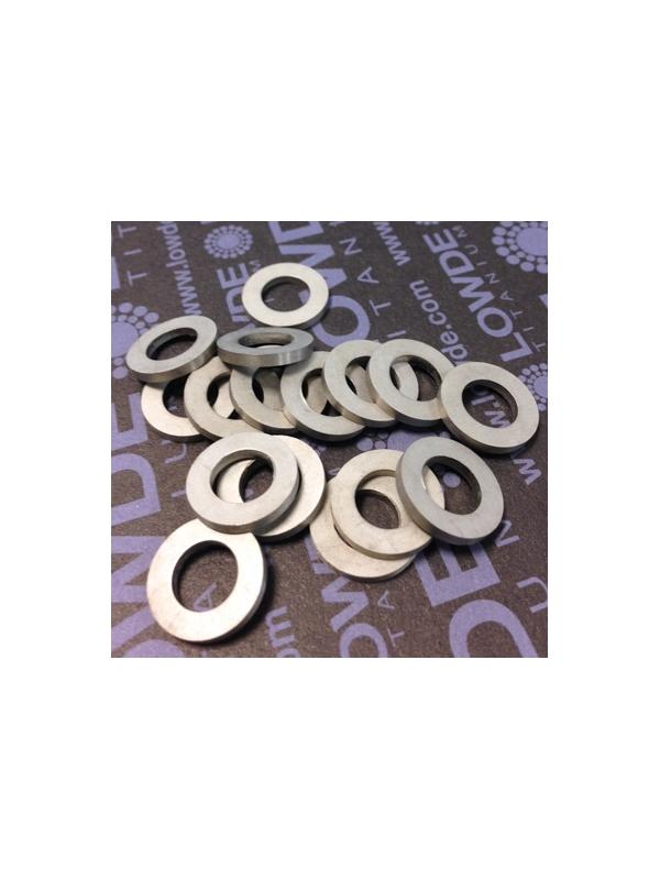 Arandela DIN 433 M8 titanio gr. 5 (6Al4V). Estampada - Arandela DIN 433 M8 titanio gr. 5 (6Al4V). Estampada