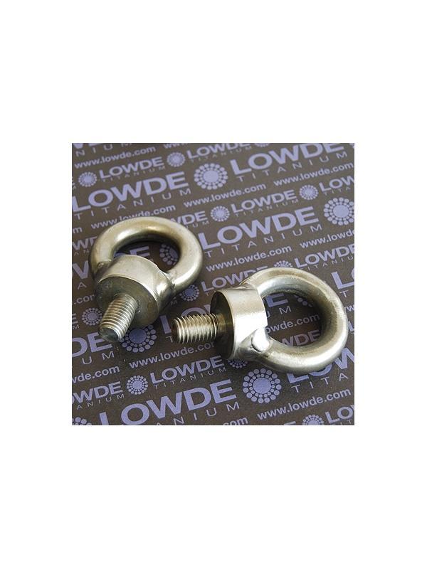 Cáncamo DIN 580 M12 de titanio gr. 2 - DIN 580 M12 de titanio gr. 2. Cáncamo.