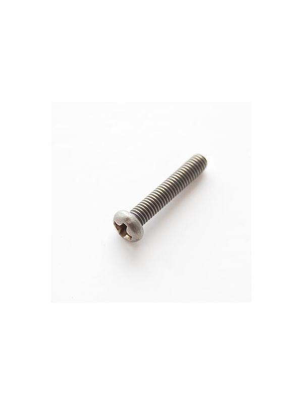Tornillo DIN 7985 M3x16 mm. de titanio gr. 2 (puro)
