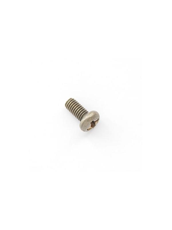 Tornillo DIN 7985 M3x6 mm. de titanio gr. 2 (puro)