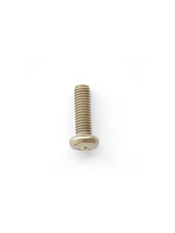 Tornillo DIN 7985 M5x15 mm. de titanio gr. 2 (puro)