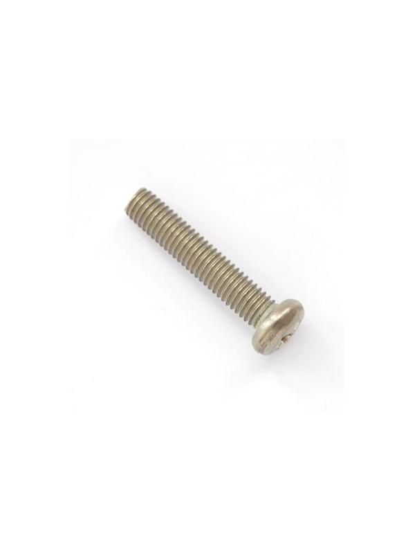 Tornillo DIN 7985 M5x25 mm. de titanio gr. 2 (puro)