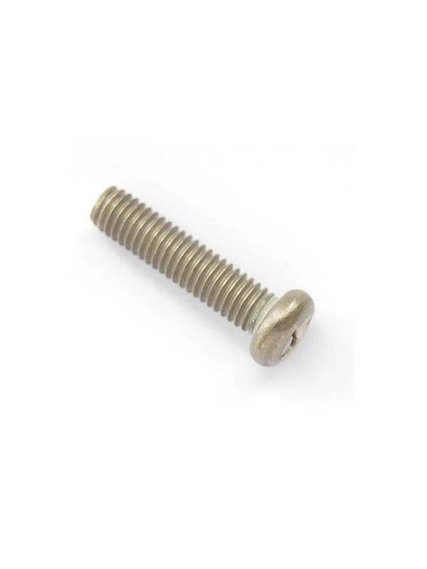 Tornillo DIN 7985 M6x25 mm. de titanio gr. 2 (puro)