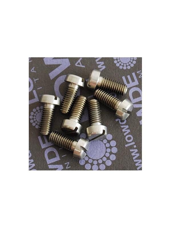 DIN 84 A M5x12 titanio gr. 5 (6Al4V) - DIN 84 A M5x12 titanio gr. 5 (6Al4V)