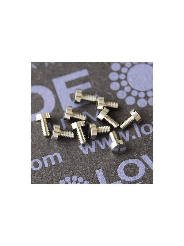 DIN 84 M2x4 mm. de titanio gr. 6 (6Al4V) - DIN 84 M2x4 mm. de titanio gr. 6 (6Al4V)