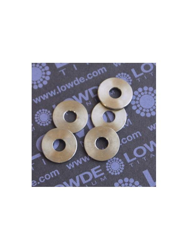 Arandela DIN 9021 M6 de Titanio gr. 5 (6AL-4V) - Arandela DIN 9021 M6 de Titanio gr. 5 (6AL-4V)