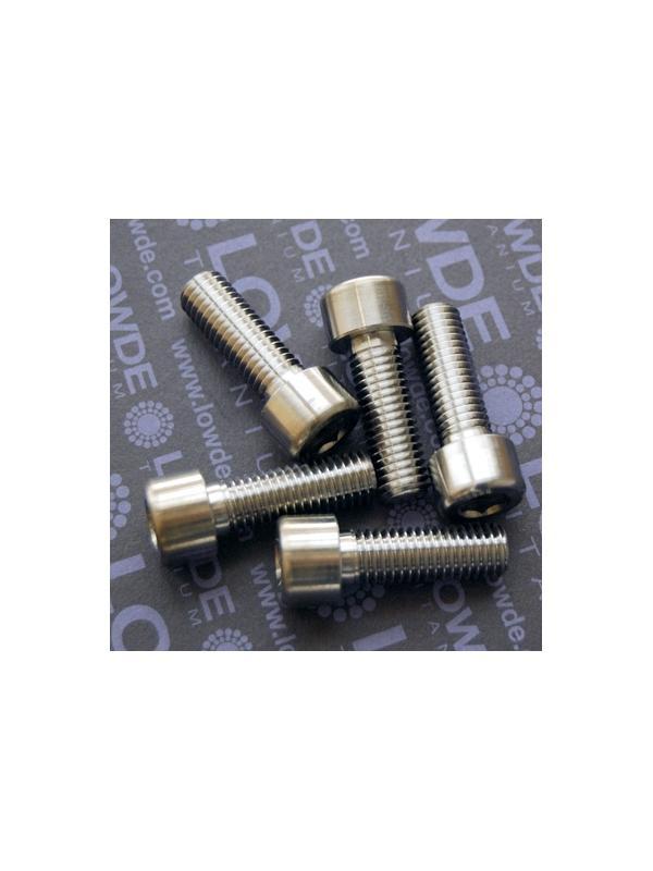 DIN 912 M10x1,50x30 titanio gr. 5 (6Al4V) - Tornillo DIN 912 M10x1,50x30 mm. de titanio gr. 5 (6Al4V)