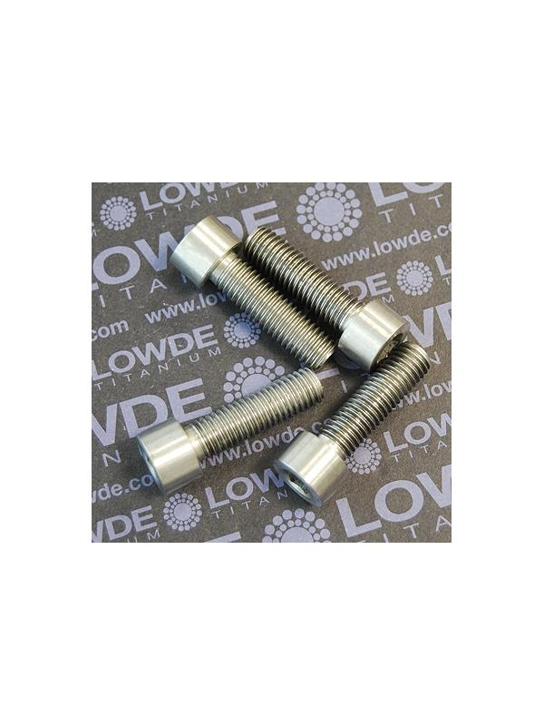Tornillo DIN 912 M10x150x35 titanio gr. 5 (6Al4V) - Tornillo DIN 912 M10x150x35 titanio gr. 5 (6Al4V)