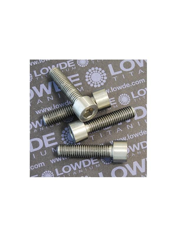 Tornillo DIN 912 M10x150x40 titanio gr. 5 (6Al4V) Rosca 15 mm. - Tornillo DIN 912 M10x150x40 titanio gr. 5 (6Al4V) Rosca: 15 mm.