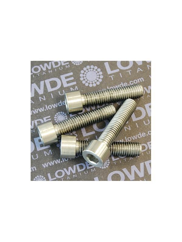 Tornillo DIN 912 M10x150x45 titanio gr. 5 (6Al4V) - Tornillo DIN 912 M10x150x45 titanio gr. 5 (6Al4V)